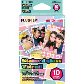 Fujifilm Instax Mini pikafilmi Stained Glass, 10 kuvaa